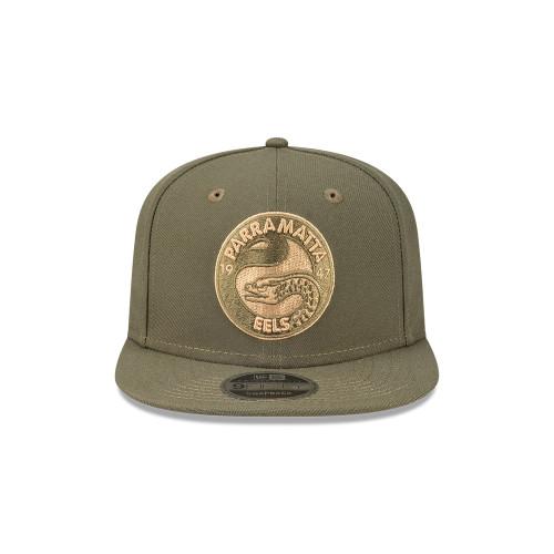 Parramatta Eels New Era 9Fifty Olive Snapback Cap