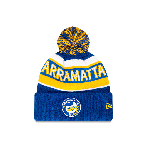 Parramatta Eels New Era 6Dart Core Pom Knit Beanie