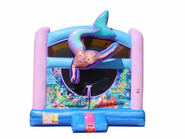 3D Mermaid Bouncer