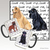 American Cocker Spaniel Pair Love Me Mug