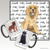 American Cocker Spaniel Puppy Love Me Mug