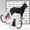 Beauceron Love Me Mug