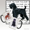 Black Russian Terrier Love Me Mug