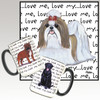 Tan & White Shih Tzu Love Me Mug