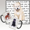 Wheaten Terrier Puppy Love Me Mug