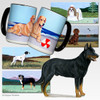 Beauceron Collie Scenic Mug
