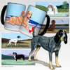 Bluetick Coonhound Scenic Mug