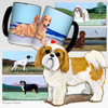 Shih Tzu Tan Puppy Clip  Cutting Board