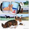 Maine Coon Cat Scenic Mug