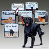 Flat Coated Retriever Slate Signs