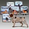 Wirehaired Pointing Griffon Slate Signs