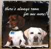 Custom Photo Slate Sign - there's always room for one more