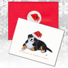Bernese Mountain Dog Puppy Christmas Cards