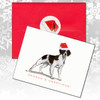 Brittany, Liver & White Christmas Cards