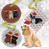 American Cocker Spaniel Christmas Ornament