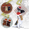 Beagle Puppy Christmas Ornaments
