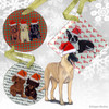 Belgian Malinois Christmas Ornament