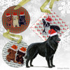 Belgian Shepherd Christmas Ornament
