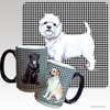 West Highland Terrier Houndzstooth Mug