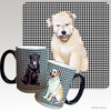 Wheaten Terrier Puppy Houndzstooth Mug