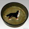 9 inch Bernese Mtn Dog Bowl
