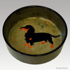 6 Inch Dachshund Dog Bowl