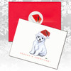 Maltese Puppy Christmas Cards