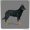 Beauceron Collie Houndzstooth Coasters