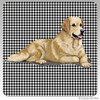 Golden Retriever Houndzstooth Coasters
