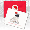 Pug Puppy Christmas Cards
