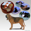 Bloodhound Bisque Coaster Set