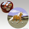 Haflinger Bisque Coaster Set