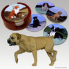 Boerboel Bisque Coaster Set