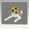 Pit Bull Houndstooth Mouse Pads