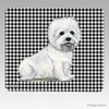 Sitting West Highland Terrier Mouse Pad