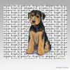 Airedale Puppy Megabyte Mouse Pad