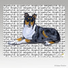 Smooth  Collie Megabyte Mouse Pad