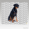 Uncropped  Doberman Megabyte Mouse Pad
