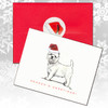 West Highland White Terrier Christmas Cards
