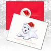 West Highland Terrier Puppy Christmas Cards