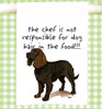 American Water Spaniel Flour Sack Kitchen Towel