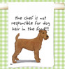 Irish Terrier Flour Sack Kitchen Towel