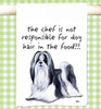 Shih Tzu Flour Sack Kitchen Towel