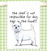 West Highland White Terrier Flour Sack Kitchen Towel