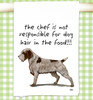 Wirehaired Pointing Griffon Flour Sack Kitchen Towel