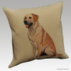 Yellow Lab Throw Pillow