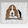 Basset Hound Puppy Cutting Board