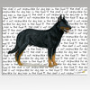 Beauceron Cutting Board