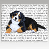 Bernese Mtn Dog Puppy Cutting Board