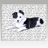 Border Collie Puppy Cutting Board